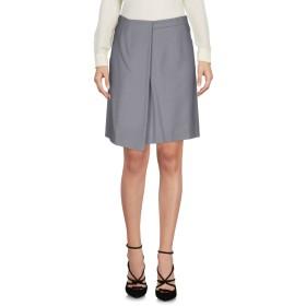 《期間限定セール開催中!》CACHAREL レディース ひざ丈スカート グレー 40 ウール 99% / 指定外繊維 1%