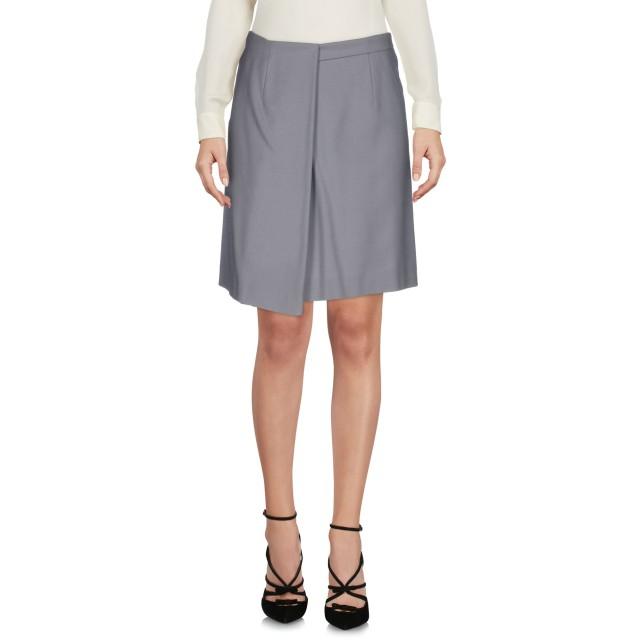 《セール開催中》CACHAREL レディース ひざ丈スカート グレー 40 ウール 99% / 指定外繊維 1%