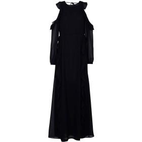 《期間限定セール開催中!》GLAMOROUS レディース ロングワンピース&ドレス ブラック XS ポリエステル 100%