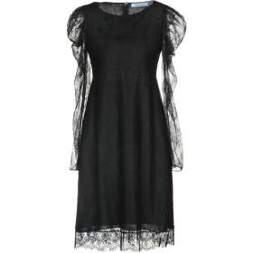 《セール開催中》BLUMARINE レディース ミニワンピース&ドレス ブラック 42 100% ナイロン