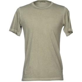 《期間限定 セール開催中》BL.11 BLOCK ELEVEN メンズ T シャツ ミリタリーグリーン S コットン 100%