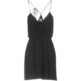 《セール開催中》MISA Los Angeles レディース ミニワンピース&ドレス ブラック XS ポリエステル 96% / ポリウレタン 4%