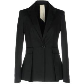 《期間限定 セール開催中》ANNIE P. レディース テーラードジャケット ブラック 46 コットン 98% / ポリウレタン 2%