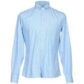 《期間限定セール開催中!》BERRY London メンズ シャツ スカイブルー 39 コットン 100%