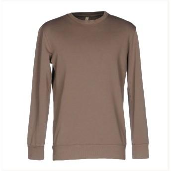 《セール開催中》DONVICH メンズ スウェットシャツ カーキ L コットン 100%