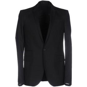 《期間限定 セール開催中》LES HOMMES メンズ テーラードジャケット ブラック 48 ウール 97% / ポリウレタン 3% / ポリエステル