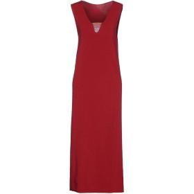 《セール開催中》TWINSET レディース 7分丈ワンピース・ドレス ガーネット XS 70% レーヨン 30% ポリエステル