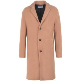 《期間限定セール開催中!》ROUTE des GARDEN メンズ コート キャメル 46 バージンウール 100%