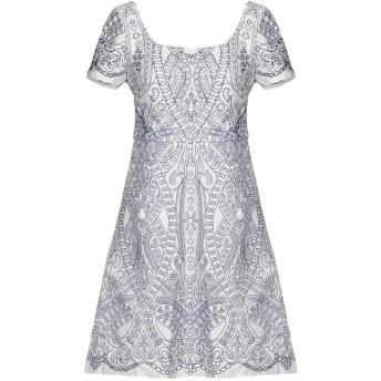 《セール開催中》MARCHESA NOTTE レディース ミニワンピース&ドレス ブルー 4 ポリエステル 100% / ナイロン