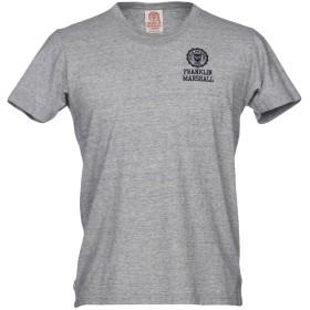 《期間限定セール開催中!》FRANKLIN & MARSHALL メンズ T シャツ ライトグレー S コットン 100%