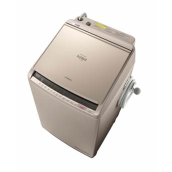 日立10.0kg洗濯乾燥機 ビートウォッシュシャンパンBWDV100CN