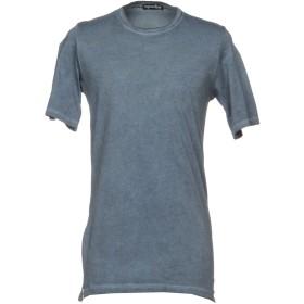 《期間限定 セール開催中》PEOPLEHOUSE メンズ T シャツ ブルーグレー XL コットン 95% / ポリウレタン 5%