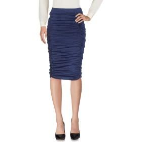 《期間限定セール開催中!》PINKO レディース 7分丈スカート ブルー XS レーヨン 63% / 金属繊維 17% / ナイロン 15% / ポリウレタン 5%