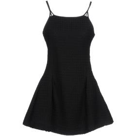 《期間限定セール開催中!》ASH STUDIO PARIS レディース ミニワンピース&ドレス ブラック 38 コットン 100%