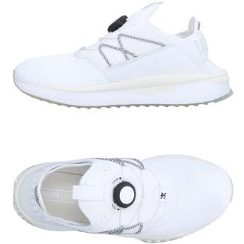 《期間限定セール開催中!》PUMA メンズ スニーカー&テニスシューズ(ローカット) ホワイト 8.5 紡績繊維
