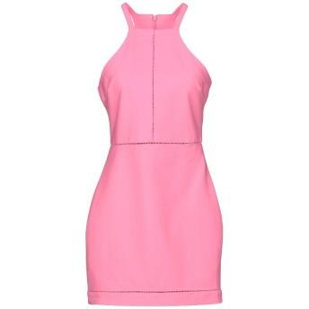 《9/20まで! 限定セール開催中》ELIZABETH AND JAMES レディース ミニワンピース&ドレス ピンク 0 ポリエステル 54% / レーヨン 39% / ポリウレタン 7%