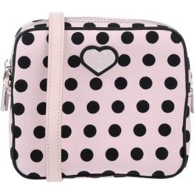 《送料無料》KATIE GRAND LOVES HOGAN レディース ハンドバッグ ライトピンク 紡績繊維