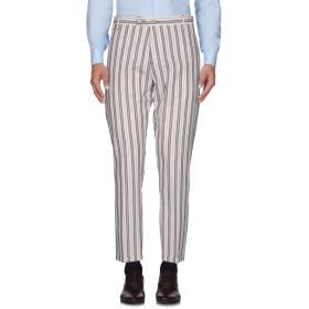 《期間限定セール開催中!》NEILL KATTER メンズ パンツ ホワイト 46 55% コットン 45% 麻