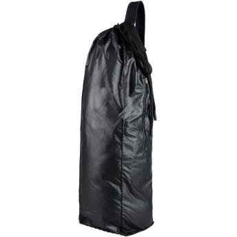 《期間限定セール開催中!》NO KA 'OI レディース バックパック&ヒップバッグ ブラック ポリエステル 90% / ポリウレタン 10% YOGA MAT BAG