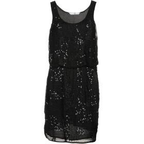《期間限定セール開催中!》SH by SILVIAN HEACH レディース ミニワンピース&ドレス ブラック XS 100% ポリエステル