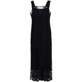 《セール開催中》TWINSET レディース 7分丈ワンピース・ドレス ブラック 40 ポリエステル 100%