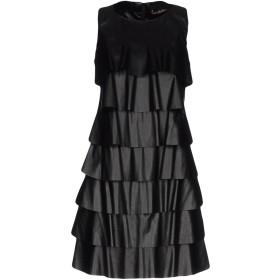 《セール開催中》JOLIE CARLO PIGNATELLI レディース ミニワンピース&ドレス ブラック 40 100% ポリエステル