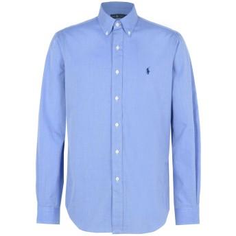 《期間限定 セール開催中》POLO RALPH LAUREN メンズ シャツ パステルブルー XL コットン 100% Core Fit Poplin Shirt