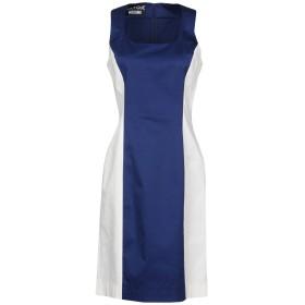 《期間限定 セール開催中》BOUTIQUE MOSCHINO レディース ミニワンピース&ドレス ブルー 38 97% コットン 3% 指定外繊維