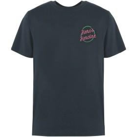 《期間限定 セール開催中》HERO'S HEROINE メンズ T シャツ ダークグリーン M コットン 100%