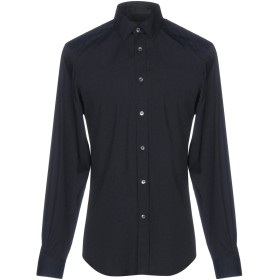 《セール開催中》BELSTAFF メンズ シャツ ダークブルー S コットン 78% / ナイロン 18% / ポリウレタン 4%