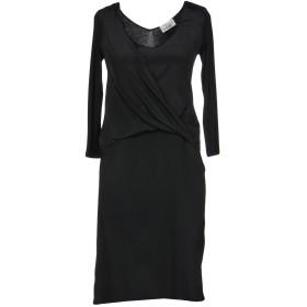 《セール開催中》VIOLET ATOS LOMBARDINI レディース ミニワンピース&ドレス ブラック 38 レーヨン 90% / ポリウレタン 10%