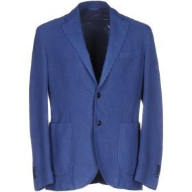 《9/20まで! 限定セール開催中》L.B.M. 1911 メンズ テーラードジャケット パステルブルー 52 コットン 90% / シルク 10%