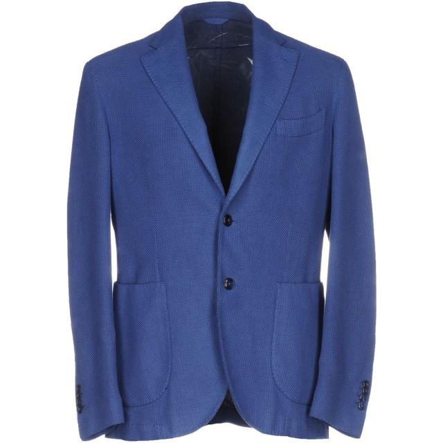 《期間限定セール開催中!》L.B.M. 1911 メンズ テーラードジャケット パステルブルー 52 コットン 90% / シルク 10%