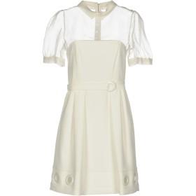 《期間限定 セール開催中》MANGANO レディース ミニワンピース&ドレス ホワイト 38 ポリエステル 95% / ポリウレタン 5%