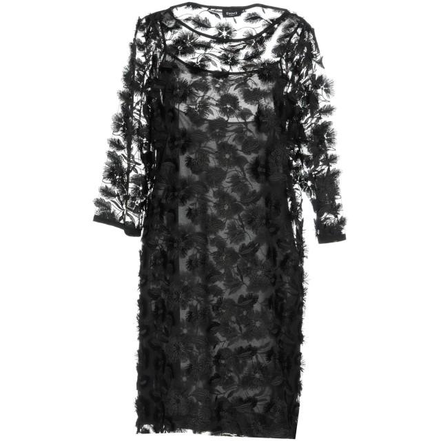 《期間限定セール開催中!》EMME by MARELLA レディース ミニワンピース&ドレス ブラック 44 ポリエステル 100%