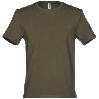 《セール開催中》MOSCHINO メンズ アンダーTシャツ ミリタリーグリーン XS 90% コットン 10% ポリウレタン