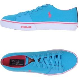 《セール開催中》POLO RALPH LAUREN メンズ スニーカー&テニスシューズ(ローカット) ターコイズブルー 12 紡績繊維