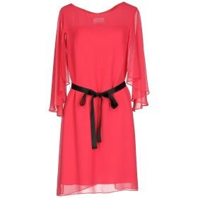 《セール開催中》KITTE レディース ミニワンピース&ドレス フューシャ 42 ポリエステル 100%