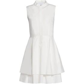 《期間限定 セール開催中》DEREK LAM 10 CROSBY レディース ミニワンピース&ドレス ホワイト 2 100% コットン
