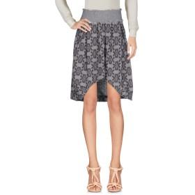 《セール開催中》MANILA GRACE レディース ひざ丈スカート ライトグレー 38 ポリエステル 40% / コットン 30% / ウール 25% / ナイロン 5%
