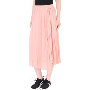 《セール開催中》DEHA レディース 7分丈スカート ピンク XS レーヨン 100% PETAL SKIRT