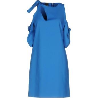《セール開催中》PINKO レディース ミニワンピース&ドレス ブライトブルー 44 50% コットン 44% ナイロン 6% ポリウレタン