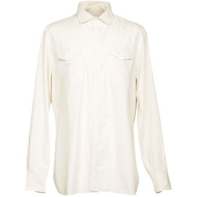 《期間限定 セール開催中》EIDOS メンズ シャツ アイボリー XXL コットン 100%