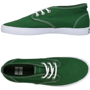 《9/20まで! 限定セール開催中》GRAVIS メンズ スニーカー&テニスシューズ(ローカット) グリーン 10.5 紡績繊維