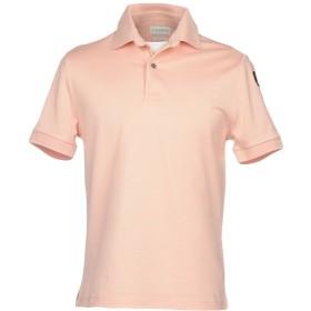 《期間限定 セール開催中》BALLANTYNE メンズ ポロシャツ ピンク S 100% コットン
