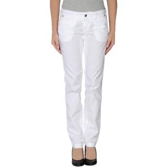 《セール開催中》PROVENCE DE JAGGY レディース パンツ ホワイト 44 コットン 98% / ポリウレタン 2%