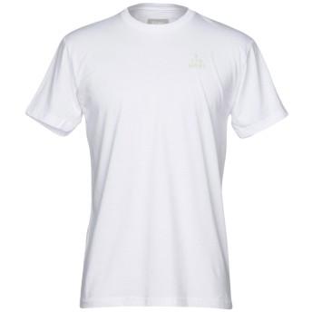《9/20まで! 限定セール開催中》ALTAMONT メンズ T シャツ ホワイト S 60% コットン 40% ポリエステル