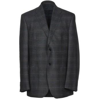 《期間限定 セール開催中》CITY TIME メンズ テーラードジャケット ブルー 46 コットン 38% / ウール 30% / ポリエステル 22% / 麻 10%
