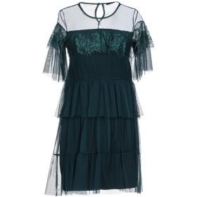 《期間限定セール開催中!》SISTE' S レディース ミニワンピース&ドレス グリーン XS 100% ポリエステル レーヨン ポリウレタン