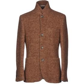 《セール開催中》BRUNELLO CUCINELLI メンズ テーラードジャケット ブラウン M 90% 毛(アルパカ) 10% ナイロン